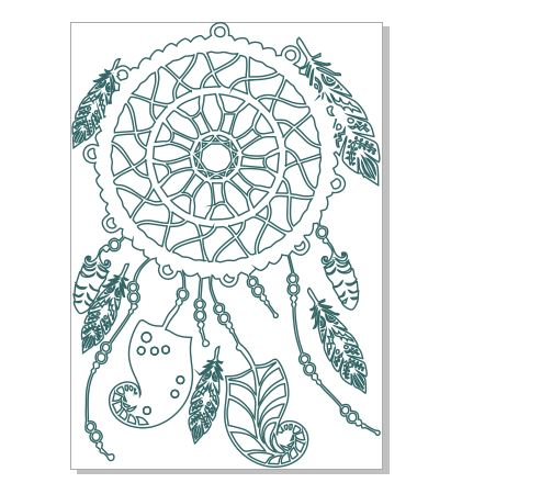 Dreamcatcher extra large ,off the page,canvas,boho, feathers ,